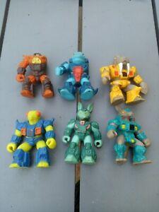 Figurines dragonautes Battle Beasts Takara