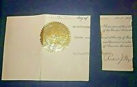 ROBERT J. WYNNE - Signed Document official letter while Postmaster General 1905