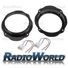 "Ford Focus MK2 CMAX Kuga Speaker Adaptor Kit Rings Spacers 165mm 6.5"" Front Door"