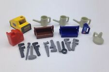 Playmobil Toolbox w/ Tools Lot for Car Mechanic Construction Gas Station