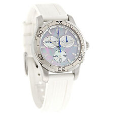 Victorinox Swiss Army Alliance Chrono Ladies MOP White Rubber Watch 241352
