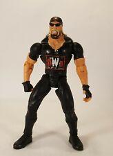 "HULK HOGAN Marvel WCW 7"" Wrestling Action Figure 1999 NWO WWF WWE Black Gear"