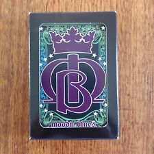 Moody Blues Deck Of Playing Cards