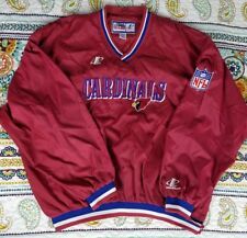 Arizona Phoenix Cardinals Logo Athletic Pro Line Pullover Jacket 3XL Windbreaker