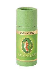 Primavera Melisse bio 30% 1ml mit Pipette 100% naturreine Qualität