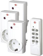 Brennenstuhl RCS 1000N Comfort 3x Funksteckdosen Set & Fernbedienung