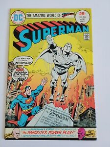 Superman #286, DC, 1975, Luthor, Parasite