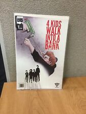 4 KIDS WALK INTO A BANK TYLER BOSS  FIrst Issue Special Cover BLACKmaskstudios