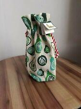 The Body Shop  Jute Drawstring Gift Bag