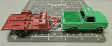 Tootsie Toy Truck & Trailer larger versions! older trailer - not as old truck