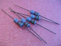 5 Pack Corning Flameproof FP42 18K OHM 2 Watt 5/% Resistors NOS