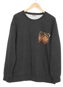 CARHARTT EATON POCKET SWEAT Crew Neck Jumper Sweatshirt Men Size XXL