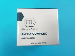 HL Holy Land Alpha Complex Active Cream 50 ml For All Skin Types + samples
