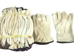 10 pair -Size 10 Men's Winter Leather Work Gloves,Thinsulate, Cowhide
