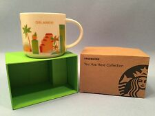 STARBUCKS ORLANDO You Are Here Collection CUP/MUG New in Box Free Shipping