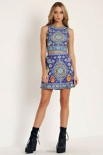 Black Milk Disney Aladdin Magic Carpet Wifey Top M A Line Skirt L New Rare Set