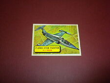PLANES trading card #51 TOPPS 1957 Army Navy Air Force - WORLD AIRPLANES - WAR