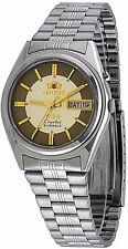 Orient BEM6Q002C Men's 3 Star Stainless Steel Champagne Dial Automatic Watch