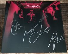 FOSTER THE PEOPLE SIGNED AUTOGRAPH SACRED HEARTS CLUB VINYL ALBUM w/EXACT PROOF