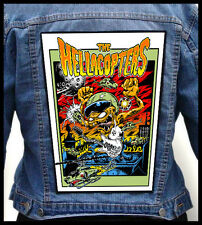 THE HELLACOPTERS - Monster --- Giant Backpatch Back Patch