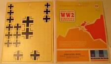 WW2 His Air Dec 1:48 Scale German Nat. Insignia 1939-'45 Fus. & Underwing Decals