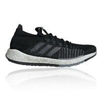 adidas Mens PulseBOOST HD Running Shoes Trainers Sneakers - Black Sports
