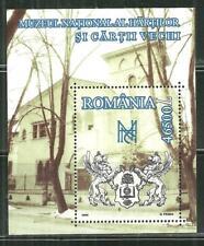 ROMANIA 4577 MNH SOUVENIR SHEET BUCHAREST MUSEUM