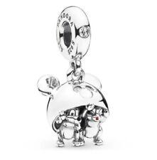 Genuine Pandora Disney Chip & Dale Mickey Ears Hat Dangle 7501057372319P