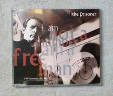 "F.A.B FEATURING MC NUMBER 6 ""THE PRISONER"" 2T CD SINGLE 1990 TELSTAR FAB CD6 RAR"