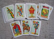 Unopened Traditional Deck of Spanish/Mexican Playing Cards in Hard Plastic Case