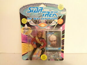 1993 Playmates Star Trek The Next Generation Lieutenant Worf Action Figure MIP