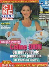 CINE REVUE (belge) 2010 N°49 celine dion jessica alba john lennon