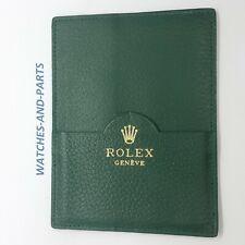 Rolex Green Leather Watch Wallet 101.40.55 GENUINE ORIGINAL