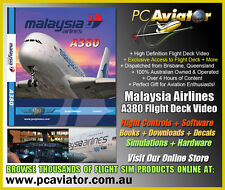 Just Planes BluRay Malaysia Airlines A380 Flight Deck Video - New & Sealed