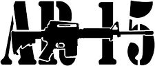 AR15 Vinyl Decal Sticker Gun Rights 2nd Amendment (Any Color) *custom Sizes