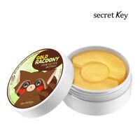 [Secret Key Official] Gold Racoony Hydrogel Eye Spot Patch/eye 60p+spot 30p