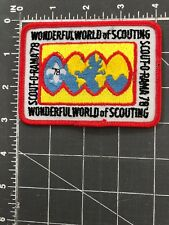 1978 Boy Scouts of America Scout-O-Rama 78 Wonderful World of Scouting Patch BSA