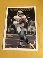1994 Topps #316 Troy Aikman Cowboys Oklahoma / UCLA MEASURES OF GREATNESS
