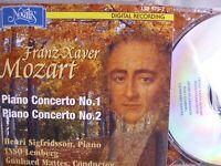 Franz Xaver Mozart- Piano Concerto 1 & 2- H.Sigfridsson- NOVALIS 2004 WIE NEU