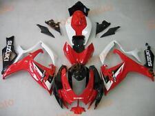 Fairings for GSXR600/750 06-07 Red White Black colors ABS Kits 2006 2007 suzuki