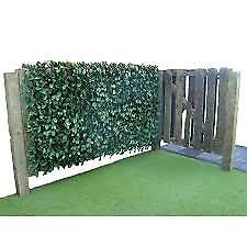 Artificial Hedge Ivy Leaf Garden Fence Wall Balcony Privacy Screening Trellis