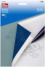 Prym Transferpapier weiß / blau, übertragen von Markierungen 610464