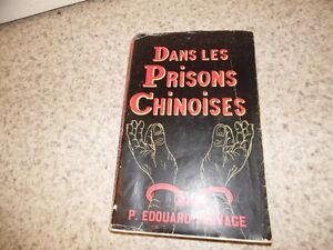 1957.Dans les prisons chinoises.Chine.Edouard Sauvage (envoi)