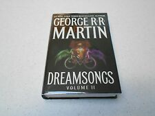 Dreamsongs Vol. 2 by George R. R. Martin, SIGNED, 1st Edition, HC, 2007