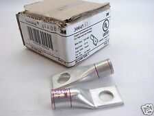 Lot Of (6) 3M™ Scotchlok™30045 Copper One Hole Lugs 35kV Max 4/0-AWG Purple b182