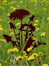 Löwenzahn Pusteblume Gartenstab Stele Stecker Metall Edelrost Gartendeko
