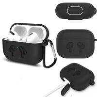 Apple AirPods Pro Case | Bentoben [Rugged Armor] Matte Black Shockproof Cover