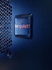 Be Quiet! 25x25mm 3D Gel Sticker / Aufkleber / Badge / Case Logo