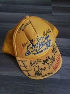 Stand Up Paddle Board SUP Trucker Hat Carolina Cup Race Autograph