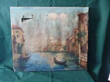 peinture a l hule signer    Venise à restaurer